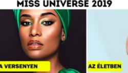 """15 """"Miss Universe 2019"""" versenyző, akik nem félnek sminkmentesen megjelenni"""