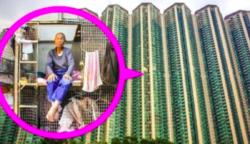 Nézd meg, mi rejtőzik Hongkong ketrecházaiban