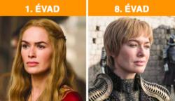 """Nézd meg, hogyan változtak meg a """"Trónok harca"""" karakterei a 8 évad alatt"""