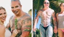 Egy nagyon híres testépítő, megmutatta milyen drasztikus változáson esett át
