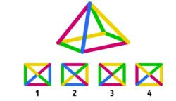 Melyik a piramis felülnézetből?