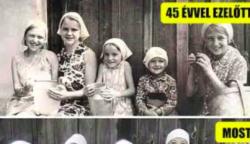 23 előtte és utána kép megmutatja, hogy milyen drasztikus változást hoz az idő múlása