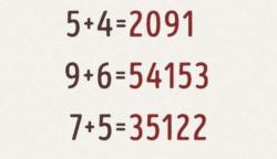 Próbáld meg megtalálni a kapcsolatot az alábbi egyenletekben