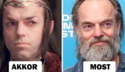 """Hogyan néznek ki az """"A Gyűrűk Ura"""" színészei 16 év után"""