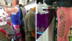 Íme néhány borzalmas példa rá, hogyan ne hordjunk egy leggingst. Nem mindenkinek való
