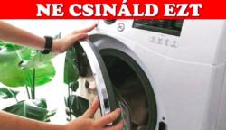 10 nagy mosási hiba, amit valószínűleg te is elkövetsz