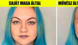 16 bátor lány beleegyezett abba, hogy összehasonlítsák az általuk készített sminket egy profi szakemberével, és az eredmények meglephetnek