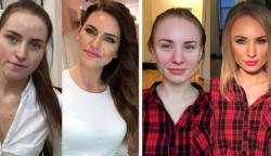 18 nő, akire abszolút nem ismerni rá smink nélkül