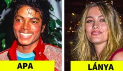 16 váratlan fénykép, amely megmutatja, hogyan néznek ki a híres szülők gyermekei