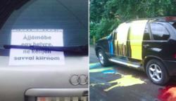 21 tahó sofőr, aki életre szóló leckét kapott a paraszt parkolásért cserébe