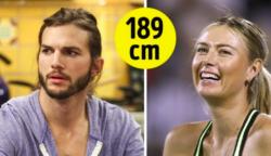 50 híresség, akiknek a valódi magassága meg fog döbbenteni
