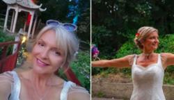 Egy nő, aki már majdnem egy éve esküvői ruhájában éli mindennapjait – Íme a képek