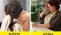 Emiatt a 7 sürgős ok miatt ne feküdj le többet vizes hajjal