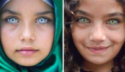 Egy török fotós megörökíti a gyermekszemek szépségét, amelyek úgy ragyognak, mint a drágakövek