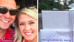 """9 év után végre kibontotta a házaspár a nászajándékát, amin az állt: """"ne nyissátok ki"""""""