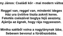 Arany János: Családi kör – mai modern változata :)