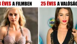 12 színész, akik ragyogóan átalakultak egy sokkal fiatalabb karakterré