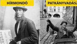15 furcsa munka a múltból, ami napjainkban már nem is létezik
