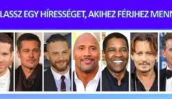 Válaszd ki, hogy melyik hírességhez mennél férjhez, és tudj meg többet arról, hogy ki vagy valójában