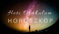 Orákulum horoszkóp 2021. március 15-21. között!