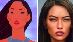 Egy művész rajzfilmfigurákat rajzol le emberként, és az eredmények hihetetlenül valóságosak