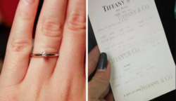 Nyilvánosan megalázta vőlegényét, mert túl olcsónak találta a többszázezres gyűrűt