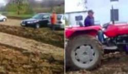 A gazda hiába kérte az autósokat, ne parkoljanak a földjére: nézd csak, milyen elvetemült bosszút áll