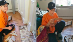 A 14 éves fiatal egy több mint 100 éves levelet talál a járólap alatt, miután véletlenül ráesett a TV-je – Meglepő sorokat tartalmaz a levél…