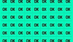 """Van itt egy """"OK"""", ami nem stimmel. Megtalálod?"""